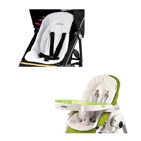 Accessori per il passeggino - Riduttore per seggiolone e passeggino Baby Cushion Bianco by Peg Perego