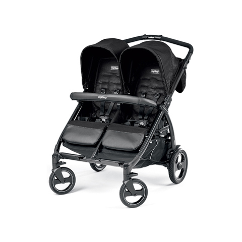 Linea gemellare - Book For Two Mod black by Peg Perego