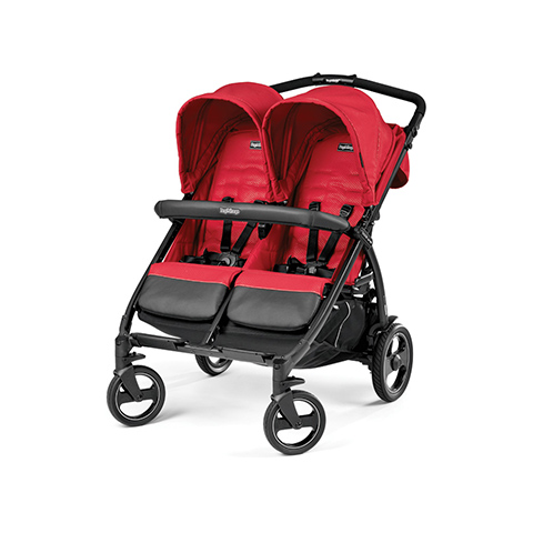 Linea gemellare - Book For Two Mod red by Peg Perego