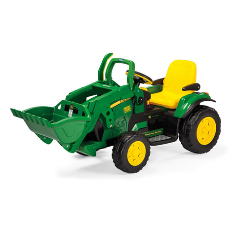 Giocattoli 36+ mesi - John Deere Ground Loader [batterie 12V] OR0068 by Peg Perego