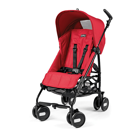 Passeggini - Pliko Mini Mod Red by Peg Perego