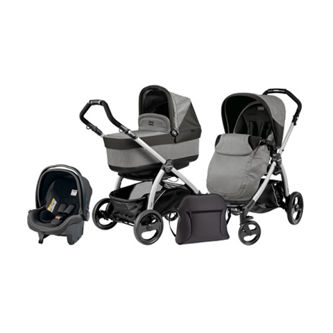 Peg Perego [TRIO] Book Plus con seggiolino e navetta Pop Up