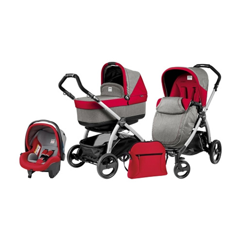 Modulari (DUO e TRIO) - [TRIO] Book Plus navetta Pop Up Tulip by Peg Perego