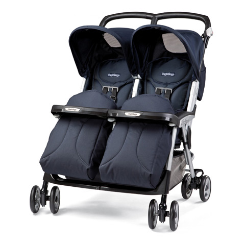 peg perego twin stroller aria twin zaffiro ebay. Black Bedroom Furniture Sets. Home Design Ideas