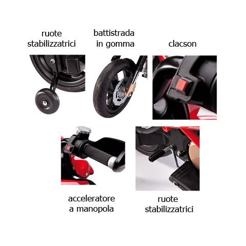 elektro motorrad 12v spielzeug peg perego ducati hypermotard mc0015 ebay. Black Bedroom Furniture Sets. Home Design Ideas