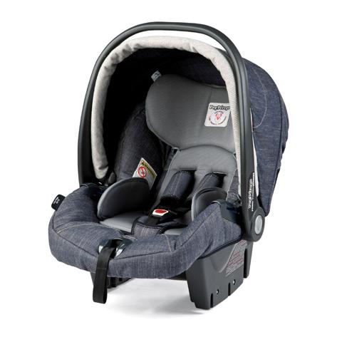 Peg Perego Car Seat Gr 0 Primo Viaggio Tri Fix Denim Ebay