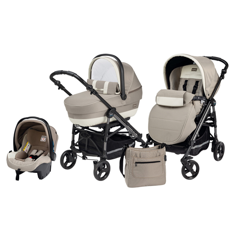 3in1 Carrycot Car Seat Stroller Peg Perego Pliko Switch