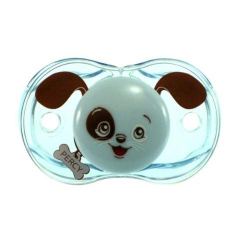 Biberon e succhiotti - Keep-it-Clean - il ciuccio sempre pulito Percy Puppy [PE 1046 - 007PE] by Raz Baby