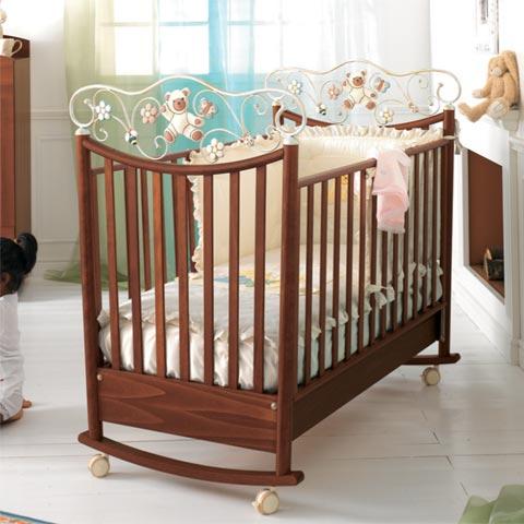 Lettini - Lettino Perla Noce antico by Baby Expert