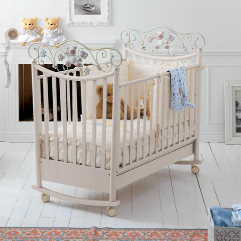 Lettini - Lettino Perla Sbiancato by Baby Expert