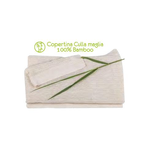 Coperte, lenzuolini e paracolpi - Coperta culla maglia Bamboo 36B00 by Picci