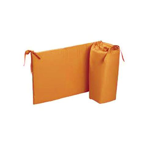 Coperte, lenzuolini e paracolpi - Paracolpi per lettino tinta unita Colorelle 07 arancio by Picci
