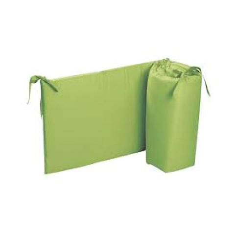 Coperte, lenzuolini e paracolpi - Paracolpi per lettino tinta unita Colorelle 06 verde by Picci