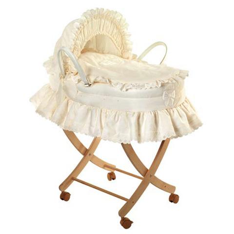 Culle complete - Alina - Cesta per beb� con piumetto e carrello  Var. 09  [69C.85+130.00] by Picci