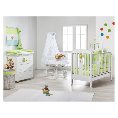 Camerette complete - Pep� [35] Bianco-verde by Picci