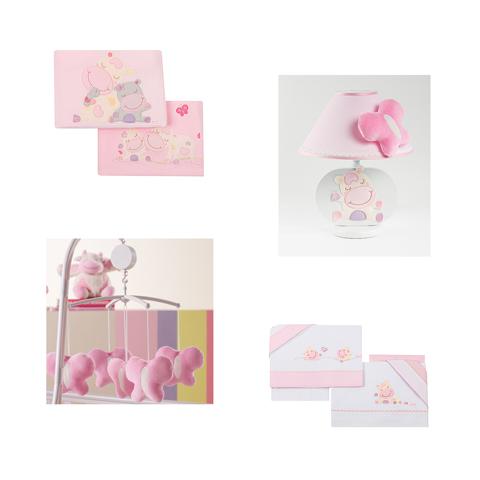 Coordinati tessili - Addobbo coordinato Lola Rosa Var.01 by Picci