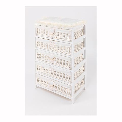 Abbigliamento e idee regalo - [880.52] Sissi - Mobile a 5 cassetti Bianco-panna by Picci