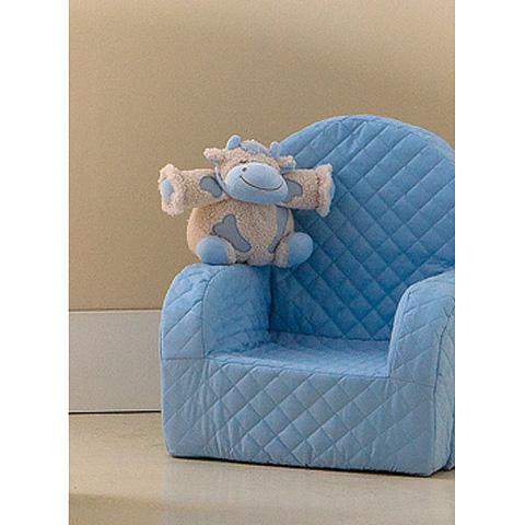 Abbigliamento e idee regalo - [79.34] Lola - Poltroncina con peluches Lola Azzurro by Picci