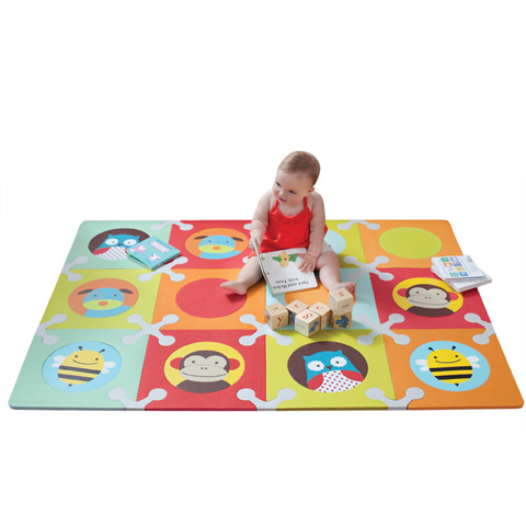Giocattoli 9+ mesi - Tappeto componibile Play Spots Small Multicolor animals [242300] by Skip Hop