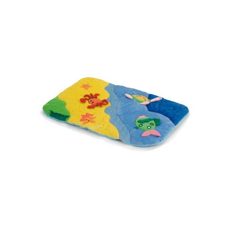 Accessori per il viaggio del bambino - Tappeto ricreativo Onda per box multicolor by Plebani