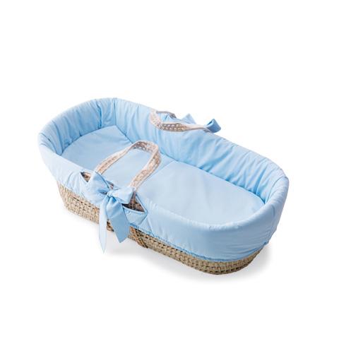 Culle complete - Sweeties - Cestone portabeb� con piumetto azzurro by Pali