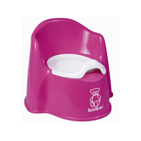 Riduttori e vasini - Vasino poltroncina Pink [055155] by Baby Bjorn
