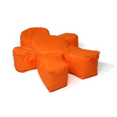 Altri moduli per arredo - Pouf Man 009 arancio by Lazzari