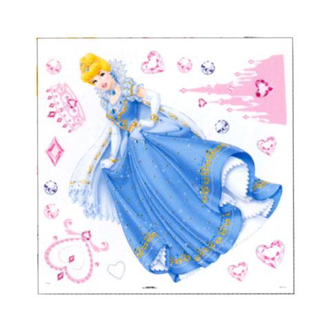 Complementi e decori - Deco Figure Stickers - Medium DE 43111 - Princess Jewels by Decofun