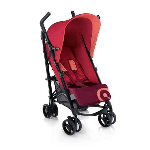 Passeggini - Quix LAVA RED by Concord