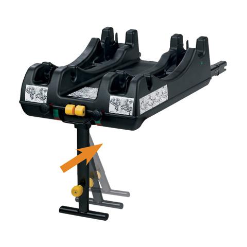 Accessori per il viaggio del bambino - Base isofix per car seat Recaro 600000266 by Recaro