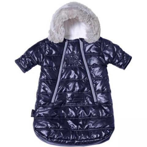 Abbigliamento e idee regalo - Sacco ovetto/carrozzina Combi Troïka - Feather Light Navy [200241] by Red Castle