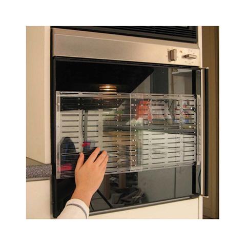 Pericoli domestici - Protezione trasparente per forno 7878 by Reer