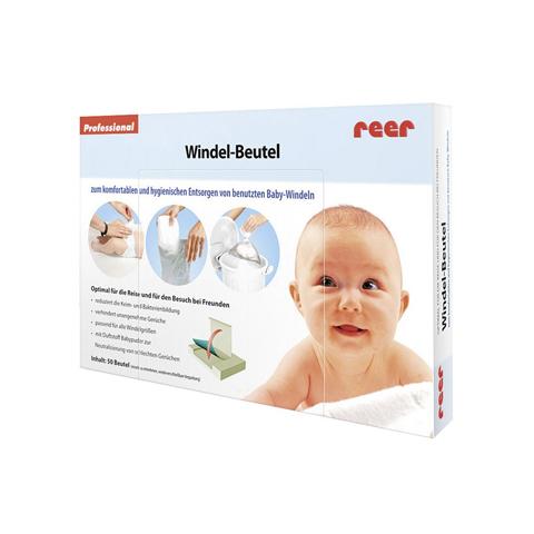 Accessori per la mamma - Sacchetto salvaodori per pannolini usati 4910 by Reer