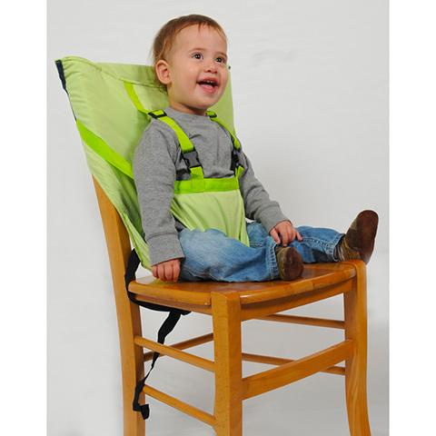 Accessori per la pappa - Sack and Seat - imbracatura imbottita da sedia SNS605 Apple Green by Sack and Seat