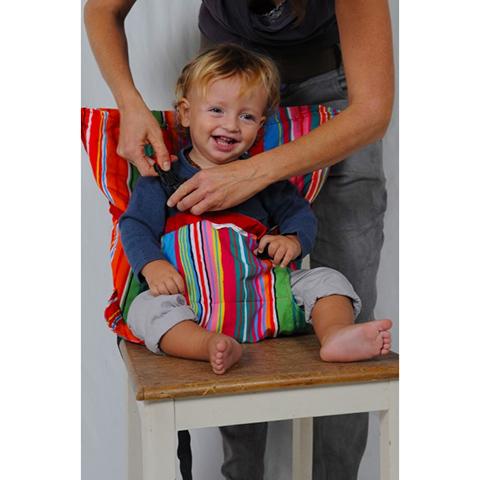 Accessori per la pappa - Sack and Seat - imbracatura imbottita da sedia SNS604 Mexico Stripes by Sack and Seat