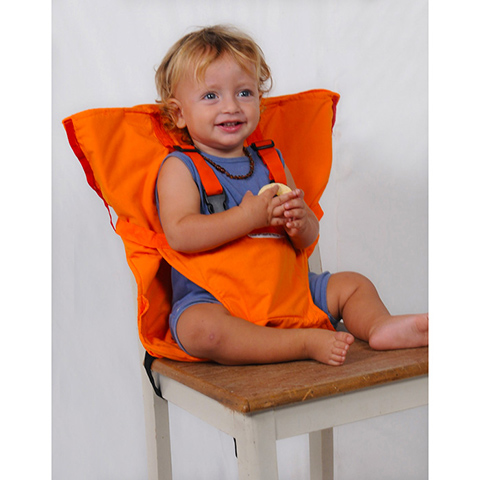 Accessori per la pappa - Sack and Seat - imbracatura imbottita da sedia SNS603 Orange by Sack and Seat