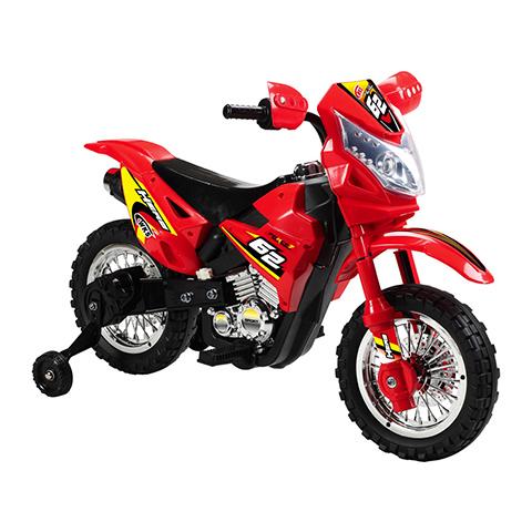 Giocattoli 36+ mesi - Moto Enduro [batterie] Rosso [00915] by Schiano