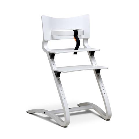 Seggioloni - High Chair Bianco Laccato by Leander