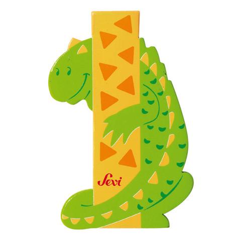 Accessori per la cameretta - Lettera I - alfabeto Animali I - iguana [81609] by Sevi