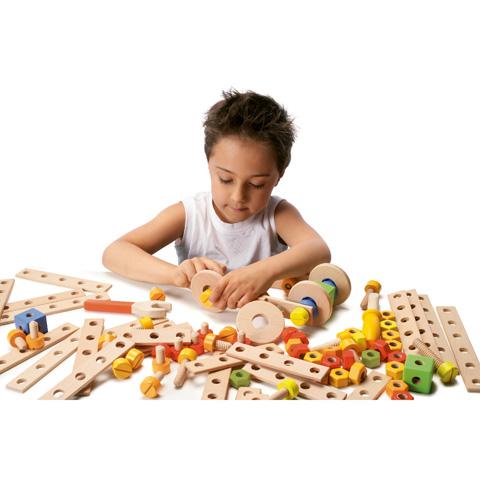 Giocattoli 36+ mesi - Box Costruzioni (104 pz) 82083 by Sevi