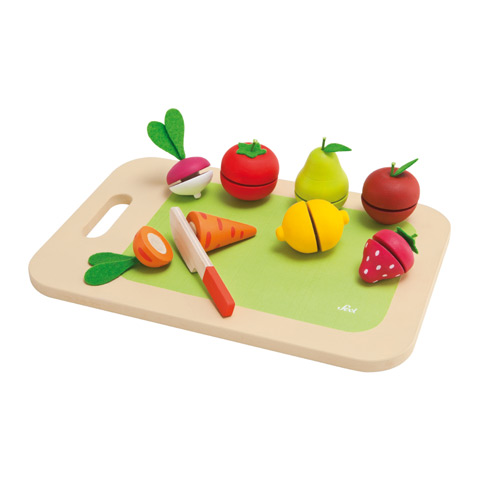 Giocattoli 36+ mesi - Tagliere frutta e verdura 82320 by Sevi