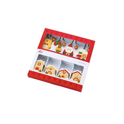 Abbigliamento e idee regalo - Confezione regalo segnaposto Natale [12 Pezzi] 82378 by Sevi