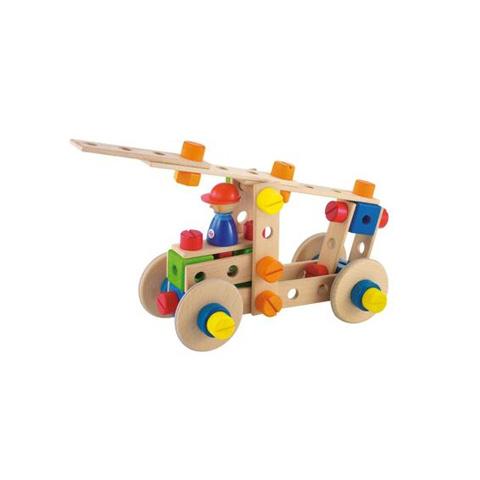 Giocattoli 36+ mesi - Kit costruzioni Camion Pompieri (53 pcs.) 82409 by Sevi