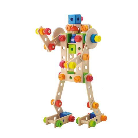 Giocattoli 36+ mesi - Kit costruzioni Robot (88 pcs.) 82410 by Sevi