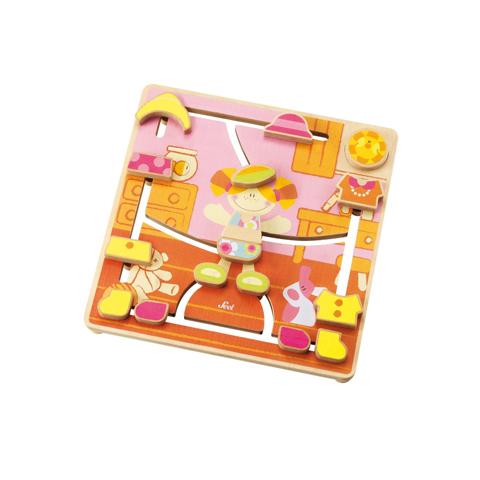 Giocattoli 24+ mesi - Puzzle labirinto moda 82674 by Sevi