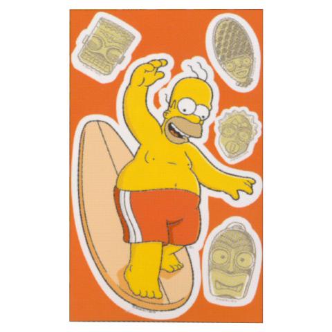 Complementi e decori - Deco Figure Stickers - Small EV 40162 - Simpson by Decofun