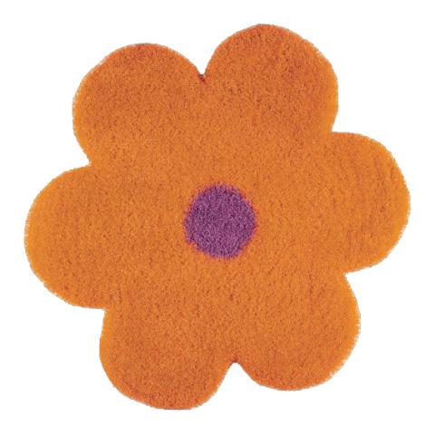 Tappeti per camerette - Daisy - maxi 6010 orange by Sitap