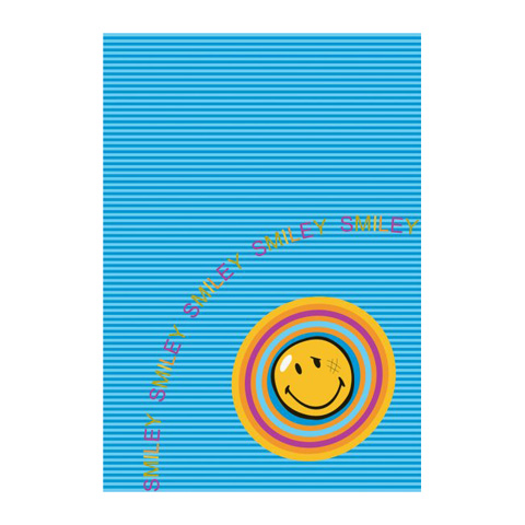 Tappeti per camerette - Smiley 8902 Blue cm. 140 x 200 by Sitap