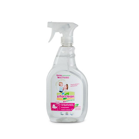 Accessori per l'igiene del bambino - Sitarclean - spray concentrato multiuso 650 ml.  [12050] by Sitar