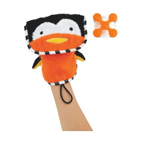 Giocattoli per il bagnetto - Guanto da toilette ZooMitt Pinguino [235200] by Skip Hop